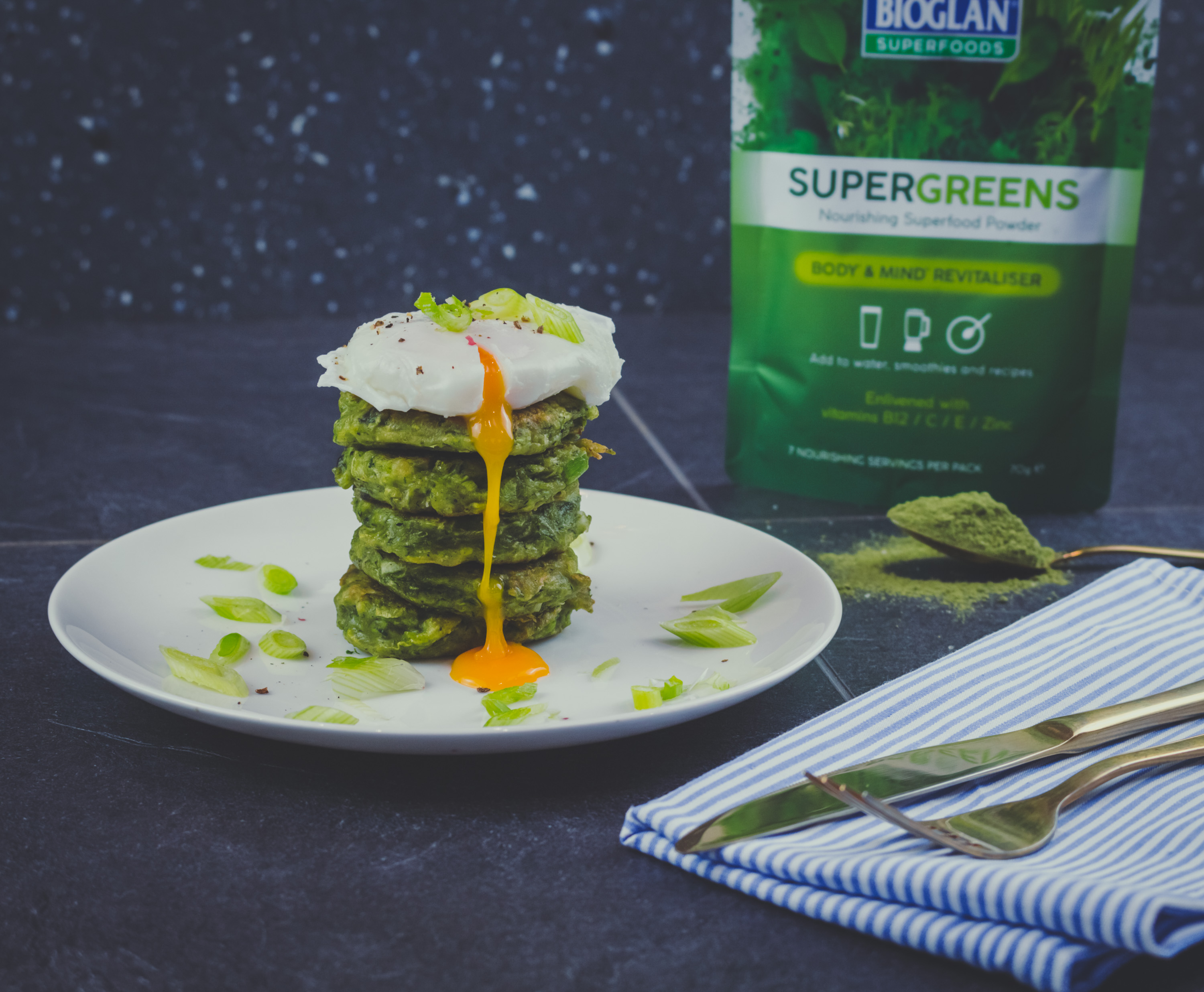 Supergreens fritters