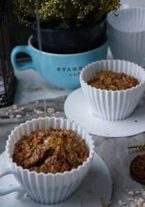 Peanut Butter and Honey Baked Oats